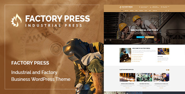 Factory Press - WordPress Theme