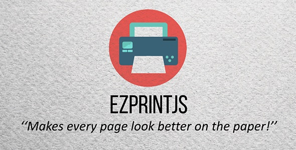 ezPrintJS - Simplify Page Printing