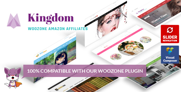 Kingdom - WooCommerce Amazon Affiliates Theme