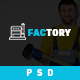 Factory - Industrial Business PSD Template - ThemeForest Item for Sale