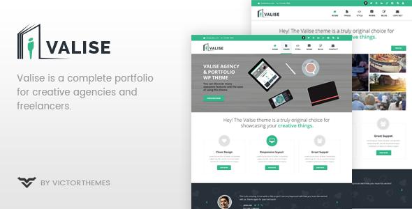 Valise - Agency / Personal Portfolio Theme