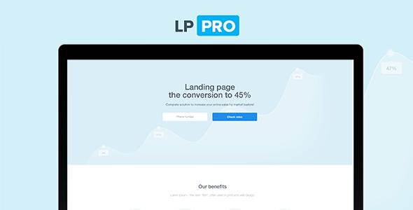 LP Pro - Landing Page Template