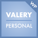 Valery CD - Personal Blog Theme for WordPress - ThemeForest Item for Sale