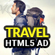 Travel | html5 Animated Google Banner - CodeCanyon Item for Sale