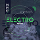 Electronic Music Flyer - GraphicRiver Item for Sale