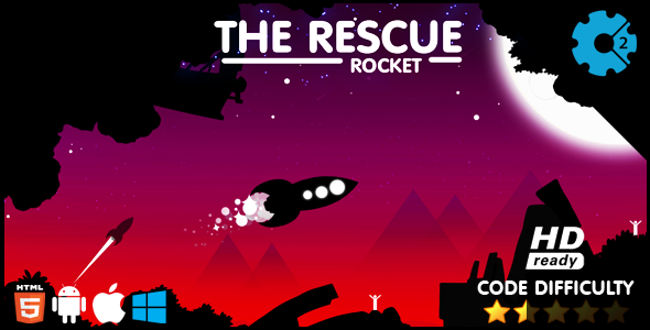 The Rescue Rocket HTML5 Game Download