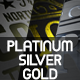 Platinum Silver Chrome and Gold Logo - VideoHive Item for Sale