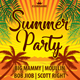 Summer Sun Party Flyer Template 148 - GraphicRiver Item for Sale