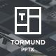 Thormund - Design & Portfolio Powerpoint Template - GraphicRiver Item for Sale
