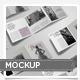 Tri-Fold Square Flyer Mockup - GraphicRiver Item for Sale