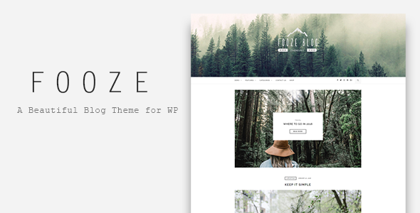 Fooze - A Responsive Blog Theme