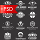 Restaurant and Food Logo Badges & Labels - GraphicRiver Item for Sale
