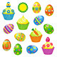 Easter collection - GraphicRiver Item for Sale