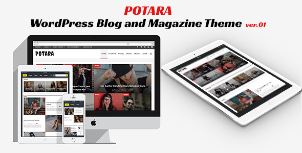 Potara - WordPress Theme - Blog&Magazine