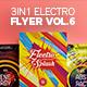 3 in 1 - Electro Flyer V.6 Bundle - GraphicRiver Item for Sale