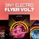 3 in 1 - Electro Flyer V.7 Bundle - GraphicRiver Item for Sale