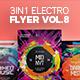 3 in 1 - Electro Flyer V.8 Bundle - GraphicRiver Item for Sale