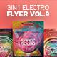 3 in 1 - Electro Flyer V.9 Bundle - GraphicRiver Item for Sale