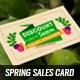 Spring Sales Card 1 - GraphicRiver Item for Sale