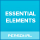 Essential Elements - Creative WordPress theme for writers and bloggers - ThemeForest Item for Sale