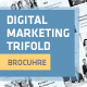 Clean Digital Marketing Trifold Brochure - GraphicRiver Item for Sale