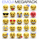 Emoji MEGAPACK - 3DOcean Item for Sale