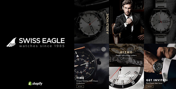 Swiss Eagle   Watch Store Shopify Theme