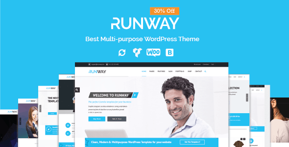 Runway - Responsive Multi-Purpose WordPress Theme