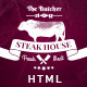 The Butcher - One Page HTML Template for Steak Houses - ThemeForest Item for Sale