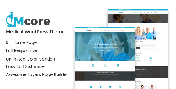 Medicore - Health Care & Medical WordPress Theme