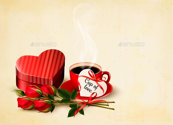 Holiday Valentine`s Day Background