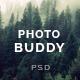 Photobuddy | Photography PSD Template - ThemeForest Item for Sale