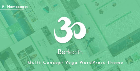 BeHealth - Multi-Purpose WordPress Theme for Yoga - Health - Beauty - Shop