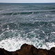 Ocean Waves Heading Towards Volcanic Rock Shore - VideoHive Item for Sale
