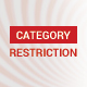 Category Restriction Magento 2 extension - CodeCanyon Item for Sale