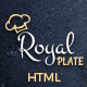Royal Plate - Restaurant and Catering HTML Template - ThemeForest Item for Sale