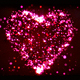 Pink Animated Particle Heart - VideoHive Item for Sale