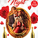Valentines Nigth- Flyer Template - GraphicRiver Item for Sale