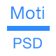Moti App PSD Landing Page PSD Template - ThemeForest Item for Sale