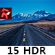 15 HDR Lightroom Presets - GraphicRiver Item for Sale
