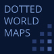 Dotted World Maps - GraphicRiver Item for Sale
