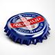 Metal Bottle Caps Mock-up - GraphicRiver Item for Sale