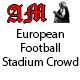 Europeen Football Stadium Crowd