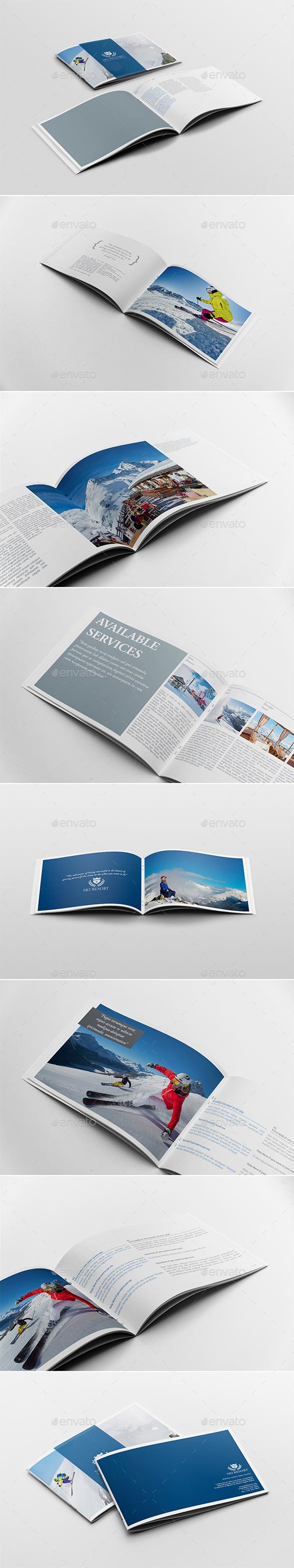 Travel Brochure Template Graphics, Designs & Templates
