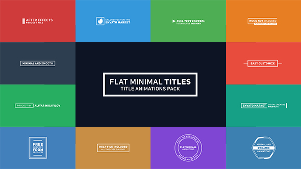 Flat Minimal Titles