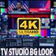 4K TV Studio Background Loop - VideoHive Item for Sale