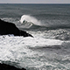 Ocean Waves Hitting Black Lava Rock Shore Depoe Bay Oregon - VideoHive Item for Sale