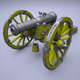 Cannon Unicorn - 3DOcean Item for Sale