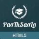 Paathshaala Education Website template - ThemeForest Item for Sale