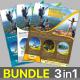 Travel / Tour Flyer Bundle - GraphicRiver Item for Sale